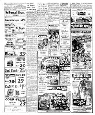 The Mason City Globe-Gazette from Mason City, Iowa on August 26, 1952 · Page 18