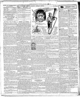 The Mason City Globe-Gazette from Mason City, Iowa on January 19, 1937 · Page 12