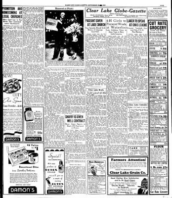 Globe-Gazette from Mason City, Iowa on September 30, 1935 · Page 5