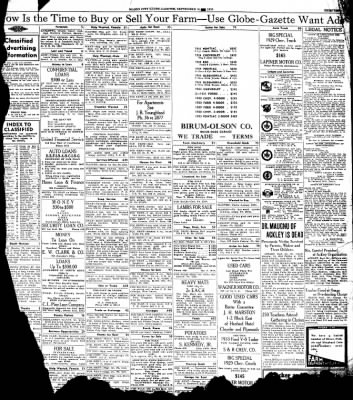 The Mason City Globe-Gazette from Mason City, Iowa on September 30, 1935 · Page 13