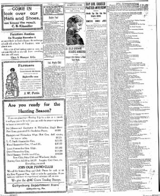 The Gettysburg Times from Gettysburg, Pennsylvania on November 3, 1913 · Page 3