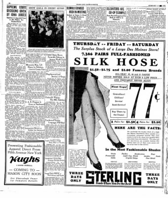 The Mason City Globe-Gazette from Mason City, Iowa on February 18, 1931 · Page 18