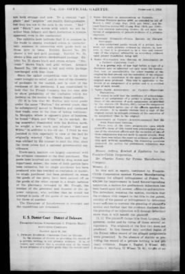 Official Gazette of the United States Patent Office from Washington, District of Columbia on February 5, 1924 · Page 6