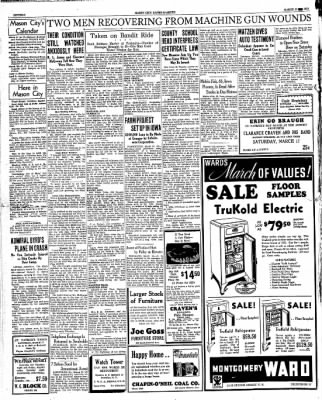 Globe-Gazette from Mason City, Iowa on March 15, 1934 · Page 16