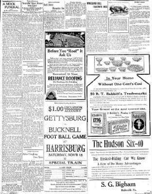 The Gettysburg Times from Gettysburg, Pennsylvania on November 14, 1913 · Page 3