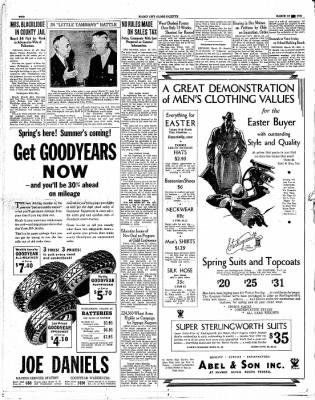 The Mason City Globe-Gazette from Mason City, Iowa on March 22, 1934 · Page 2