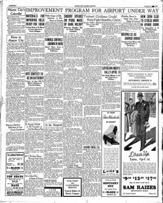 The Mason City Globe-Gazette from Mason City, Iowa on March 22, 1934 · Page 18