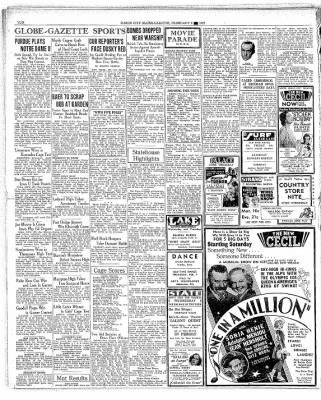 The Mason City Globe-Gazette from Mason City, Iowa on February 3, 1937 · Page 10