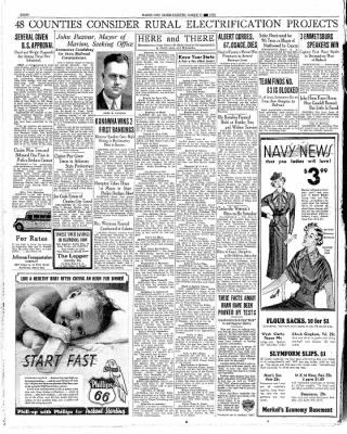 The Mason City Globe-Gazette from Mason City, Iowa on March 13, 1936 · Page 8