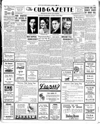 Globe-Gazette from Mason City, Iowa on March 14, 1936 · Page 5