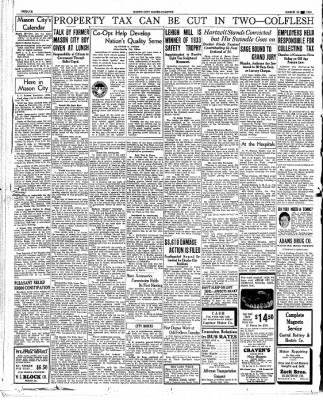 The Mason City Globe-Gazette from Mason City, Iowa on March 26, 1934 · Page 12