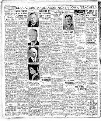 The Mason City Globe-Gazette from Mason City, Iowa on February 6, 1937 · Page 16