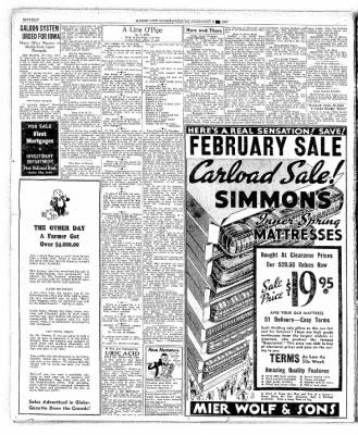 The Mason City Globe-Gazette from Mason City, Iowa on February 8, 1937 · Page 16