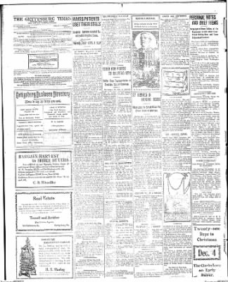 The Gettysburg Times from Gettysburg, Pennsylvania on December 4, 1913 · Page 4
