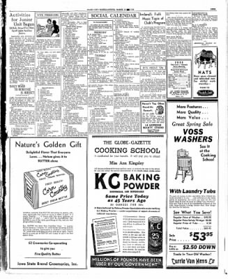 Globe-Gazette from Mason City, Iowa on March 18, 1936 · Page 9