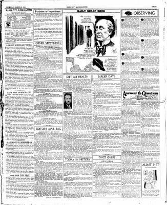 The Mason City Globe-Gazette from Mason City, Iowa on March 29, 1934 · Page 3