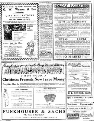 The Gettysburg Times from Gettysburg, Pennsylvania on December 8, 1913 · Page 2