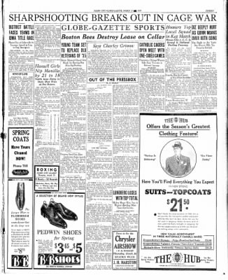 Globe-Gazette from Mason City, Iowa on March 19, 1936 · Page 15