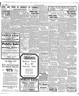 The Mason City Globe-Gazette from Mason City, Iowa on March 4, 1931 · Page 9