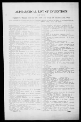 Official Gazette of the United States Patent Office from Washington, District of Columbia on February 5, 1924 · Page 253