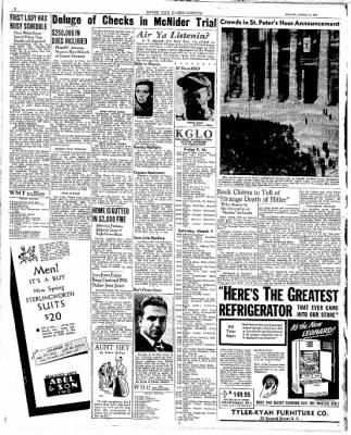 The Mason City Globe-Gazette from Mason City, Iowa on March 3, 1939 · Page 2