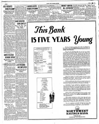 Globe-Gazette from Mason City, Iowa on April 5, 1934 · Page 4