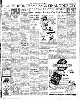Globe-Gazette from Mason City, Iowa on March 25, 1936 · Page 9