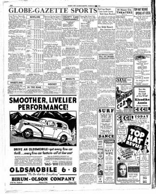 The Mason City Globe-Gazette from Mason City, Iowa on March 25, 1936 · Page 10