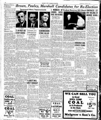 The Mason City Globe-Gazette from Mason City, Iowa on March 8, 1939 · Page 10