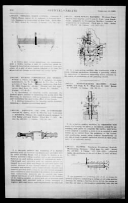 Official Gazette of the United States Patent Office from Washington, District of Columbia on February 12, 1924 · Page 181