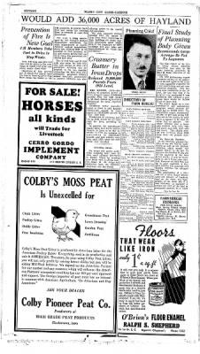 Globe-Gazette from Mason City, Iowa on April 1, 1936 · Page 30