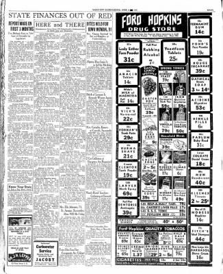 The Mason City Globe-Gazette from Mason City, Iowa on April 2, 1936 · Page 7