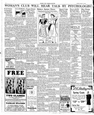 Globe-Gazette from Mason City, Iowa on March 10, 1939 · Page 6