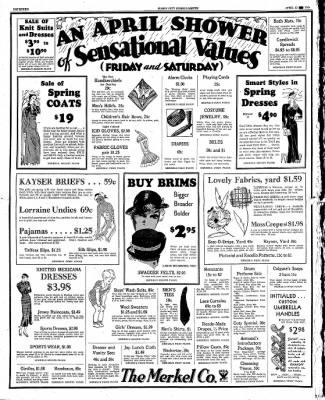 The Mason City Globe-Gazette from Mason City, Iowa on April 12, 1934 · Page 14