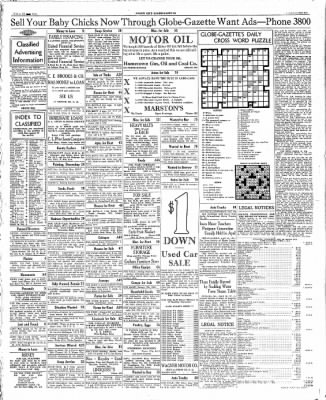 The Mason City Globe-Gazette from Mason City, Iowa on April 12, 1934 · Page 27