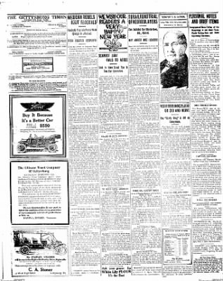 The Gettysburg Times from Gettysburg, Pennsylvania on December 31, 1913 · Page 2