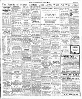 Globe-Gazette from Mason City, Iowa on March 3, 1937 · Page 13