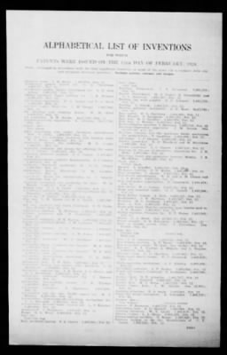 Official Gazette of the United States Patent Office from Washington, District of Columbia on February 12, 1924 · Page 281