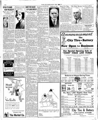 The Mason City Globe-Gazette from Mason City, Iowa on April 8, 1936 · Page 2