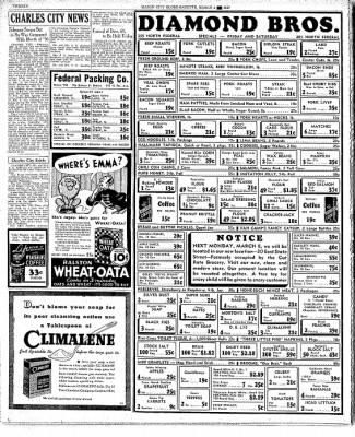 Globe-Gazette from Mason City, Iowa on March 4, 1937 · Page 20