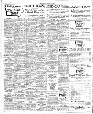 The Mason City Globe-Gazette from Mason City, Iowa on March 16, 1939 · Page 22