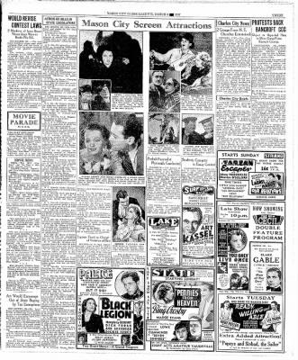 The Mason City Globe-Gazette from Mason City, Iowa on March 6, 1937 · Page 3