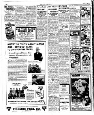 The Mason City Globe-Gazette from Mason City, Iowa on April 24, 1934 · Page 10