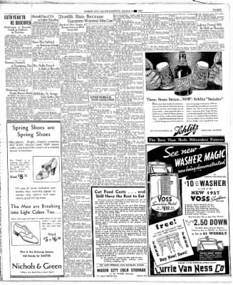 The Mason City Globe-Gazette from Mason City, Iowa on March 9, 1937 · Page 3