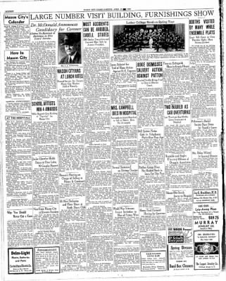 The Mason City Globe-Gazette from Mason City, Iowa on April 15, 1936 · Page 16