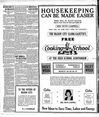 Globe-Gazette from Mason City, Iowa on March 21, 1931 · Page 19
