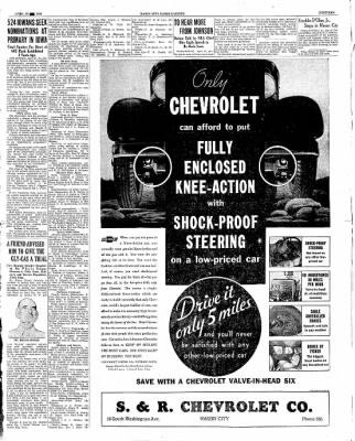 The Mason City Globe-Gazette from Mason City, Iowa on April 26, 1934 · Page 19