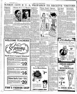 The Mason City Globe-Gazette from Mason City, Iowa on March 23, 1939 · Page 10