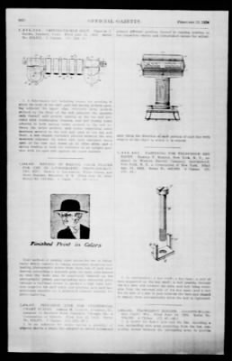 Official Gazette of the United States Patent Office from Washington, District of Columbia on February 19, 1924 · Page 190