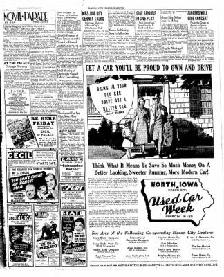 The Mason City Globe-Gazette from Mason City, Iowa on March 23, 1939 · Page 19